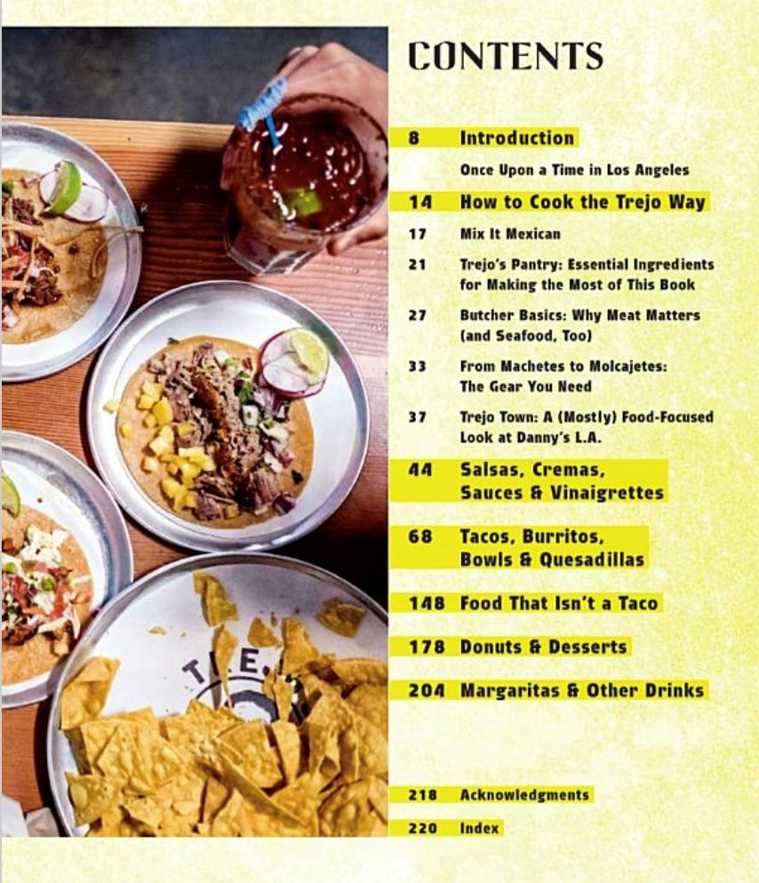 Trejo's Tacos: Recipes and Stories from LA Cookbook Penguin Random House