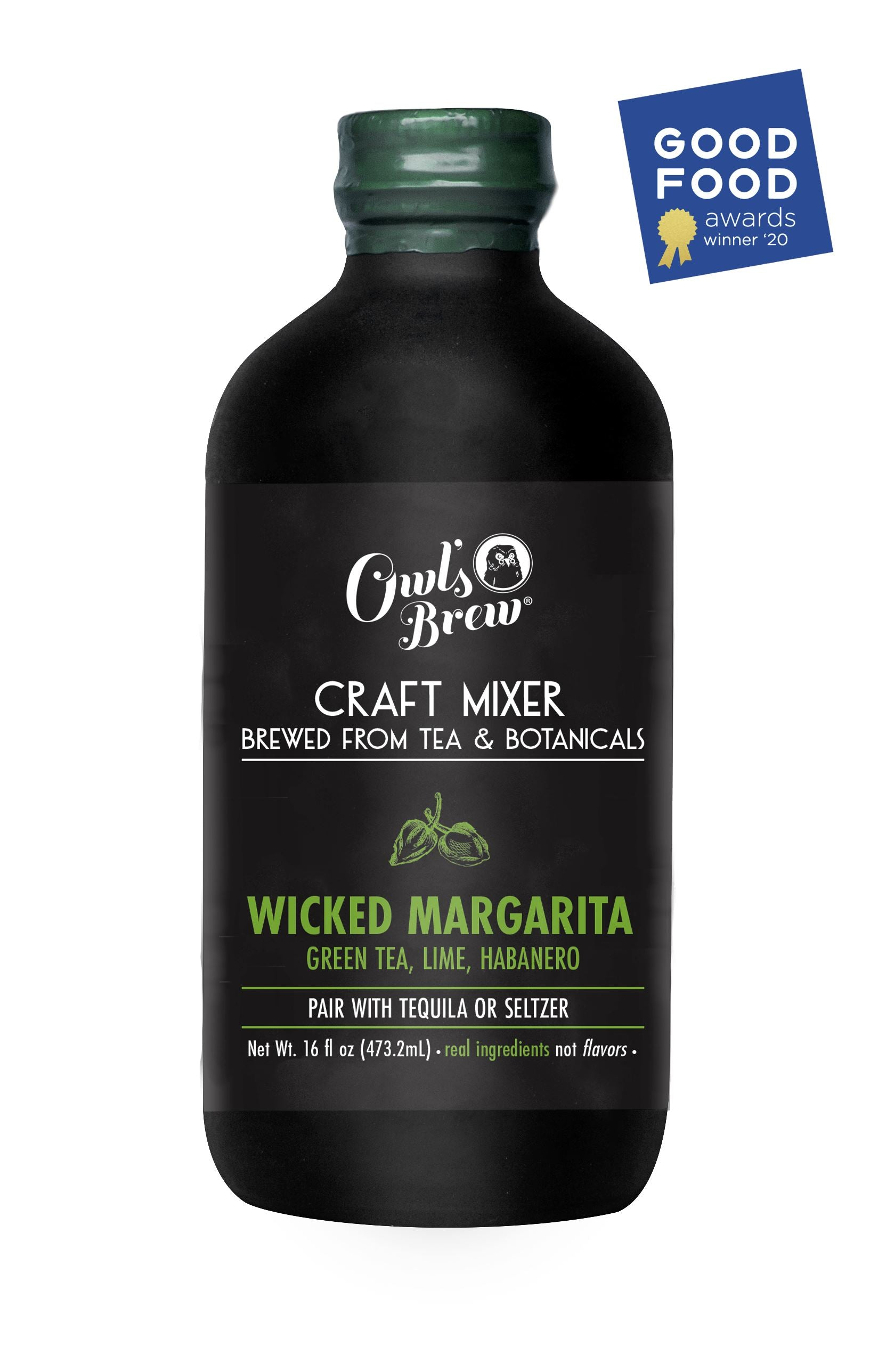 Wicked Margarita Owl's Brew Mixer 16 oz Food and Beverage Owl's Brew