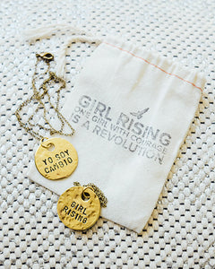 Spanish Film Quote Necklace