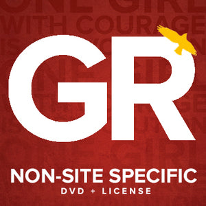 Non-Site Specific Screening DVD + License