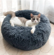 Hunters Creek™ Multicolor Cat/Dog Pet Bed Super Soft Warm Round Depth Super Cute Kennel