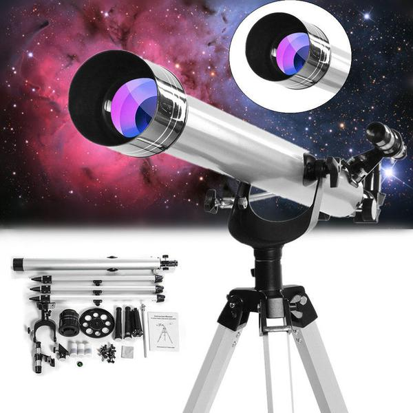 High Magnification Astronomical Refractive Zooming Astronomy Telescope for Space Celestial Observation