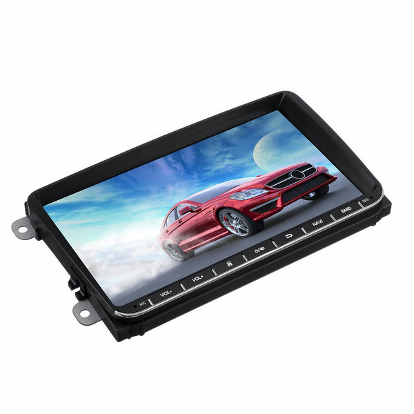 Car Audio Stereo Multimedia Player  Touch Screen Bluetooth Wifi FM Built-in Microphone For VW - Carolina Superstore