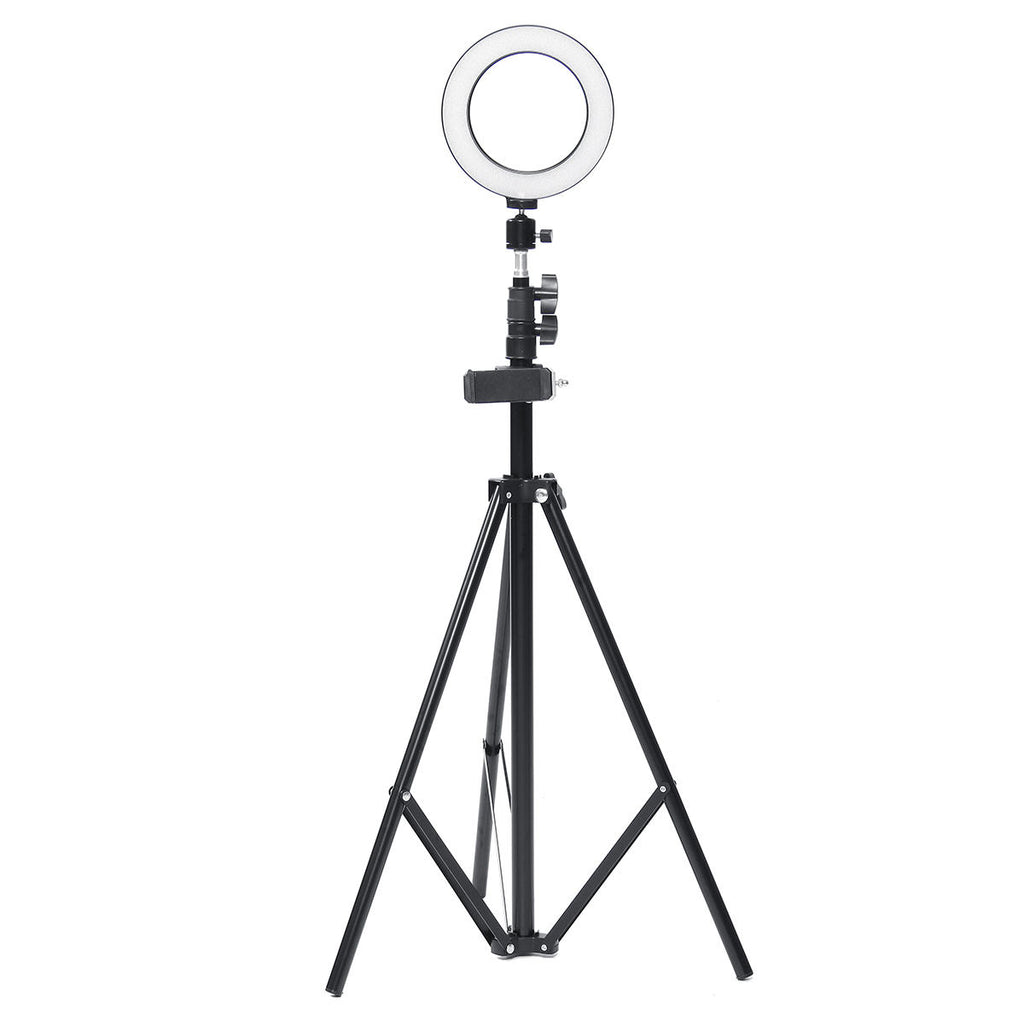Tripod Ring Light Stand LED Camera Light Cell Phone Holder Lamp - Carolina Superstore