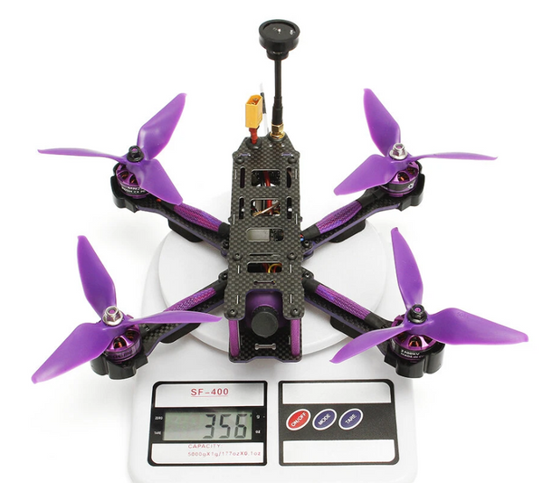 Hunters Creek™ FPV Racer RC Drone Omnibus Flysky Remote Control Flying Toy Aircraft Hobby - Carolina Superstore