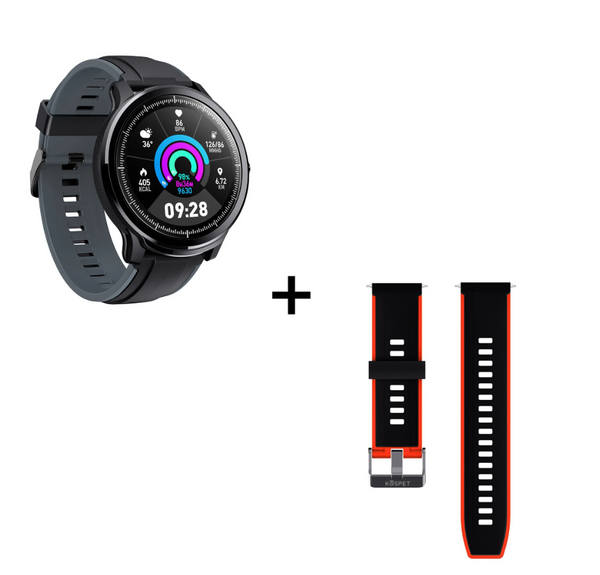Hunters Creek™ Kospet Probe IP68 Full Touch Screen Wristband Customized Watch Face Heart Rate Monitor Long Standby Smart Watch - Carolina Superstore