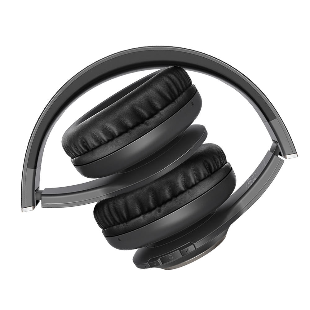 Headphone Portable Foldable Wireless Bluetooth Over Ear Stereo Music Sport Headset Mic Headphones - Carolina Superstore