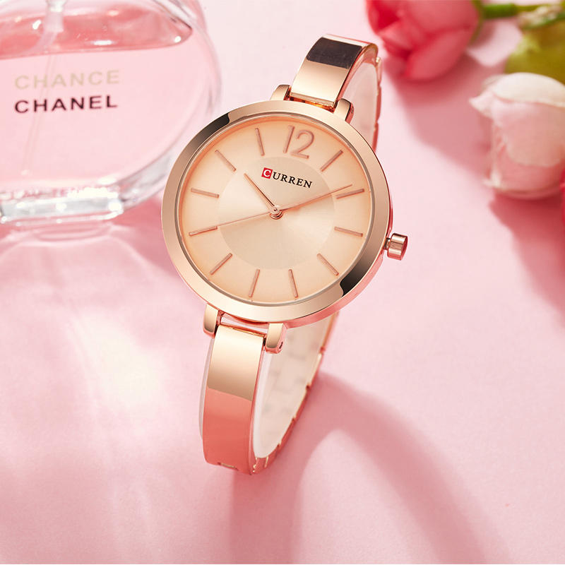Hunters Creek™ Quartz Watch Alloy Case Casual Style Women Bracelet Watches Gift Waterproof - Carolina Superstore
