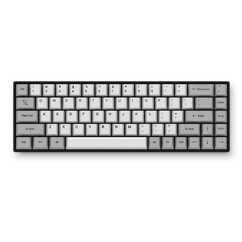 Silent Bluetooth Mechanical Keyboard Wired Dual Mode PBT Keycap Cherry MX Switch - Carolina Superstore