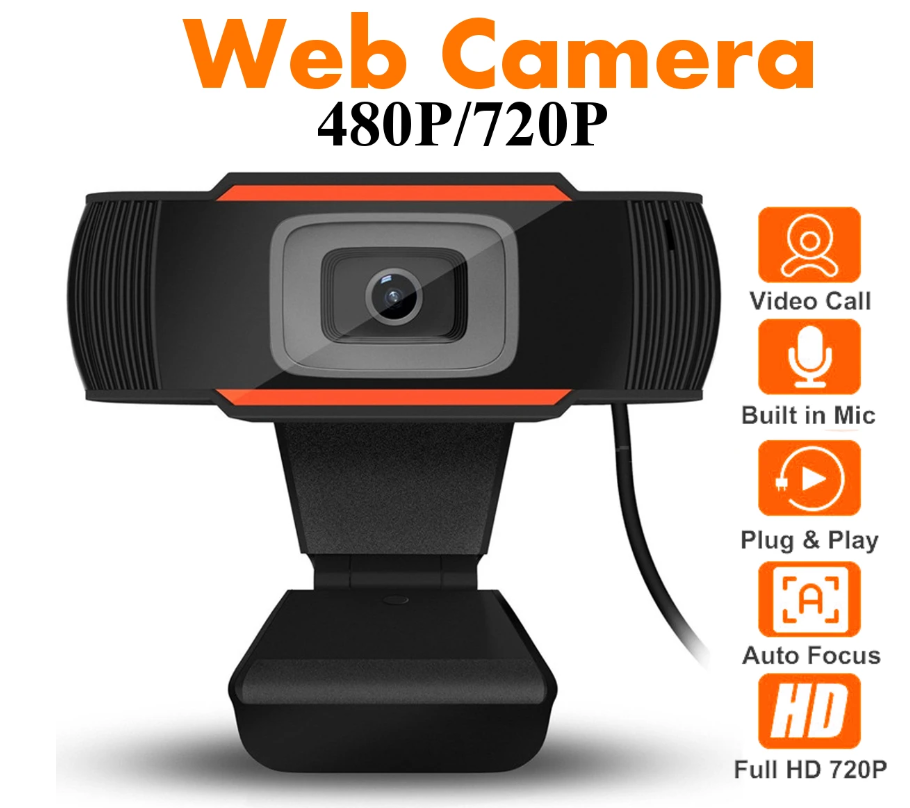 Hunters Creek™ Upgrade USB 2.0 HD Webcam Camera Web Cam With Mic For Computer Laptop Desktop Camcorder - Carolina Superstore
