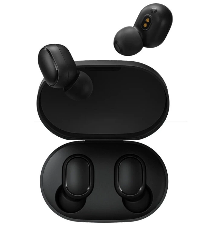 Hunters Creek™ Wireless Bluetooth Headphone Earphones Earbuds Redmi AirDots Earphone TWS Low Lag Mode Stereo Gaming Headset - Black - Carolina Superstore