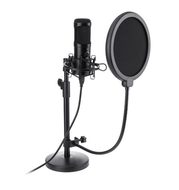 Hunters Creek™ USB Microphone, Plug & Play NASUM USB Computer Cardioid Microphone Podcast Condenser Microphone - Carolina Superstore