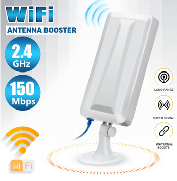 Hunters Creek™ Long Range WiFi Extender Wireless Outdoor Router Repeater WLAN Antenna Booster Signal Amplifier Booster
