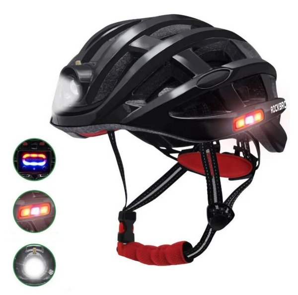 Hunters Creek™ Cycle Cycling Helmet Bike Bicycle Waterproof Light For Road MTB USB Charging for Flido D4s Camping Riding Hiking Running - Carolina Superstore