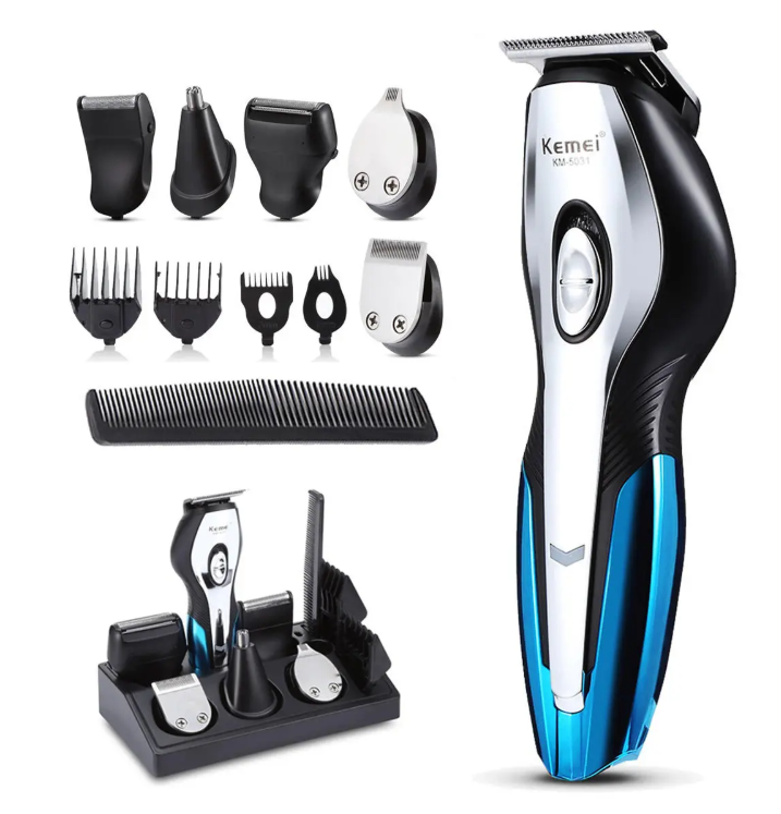 Hunters Creek 11 in 1 Electric Hair Clipper Shaver Razor Trimmer USB Rechargeable Hair Trimming Machine with 4 Limited Combs - Carolina Superstore