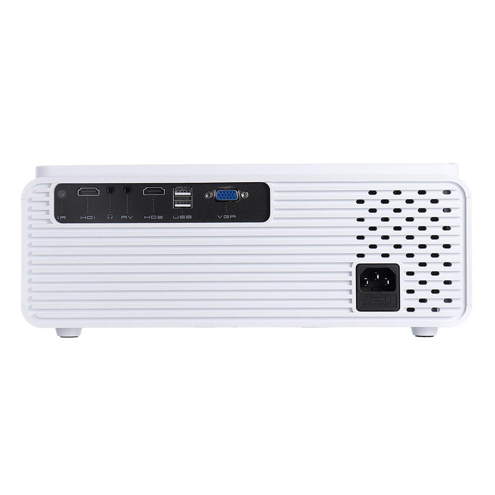 Home Smart Theater Video LCD  Movie Projector 6500 Lumens Built-in Speaker Portable Smart Remote Control - Carolina Superstore