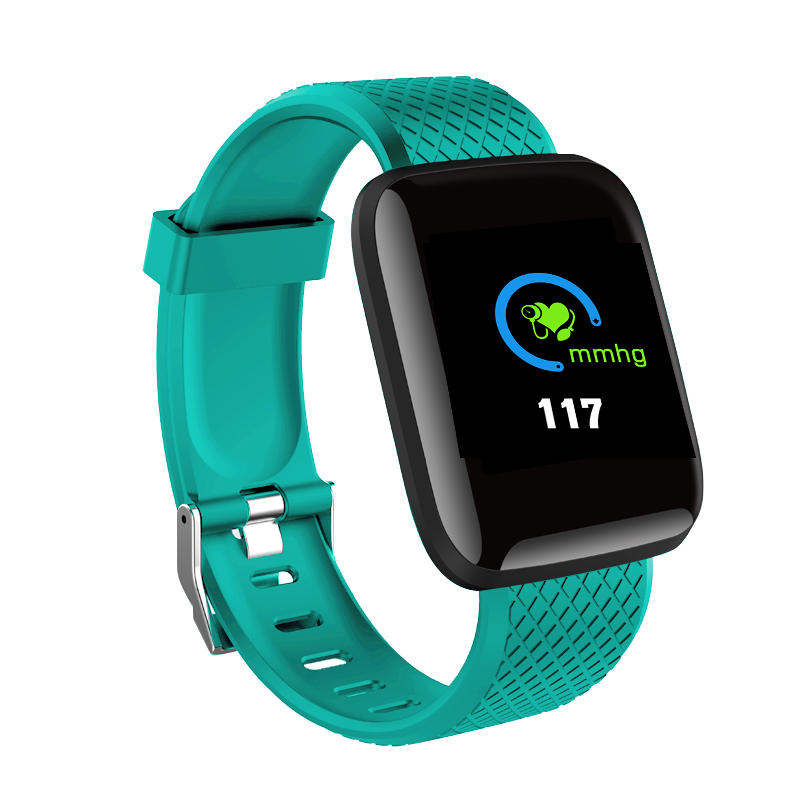 Hunters Creek™ Smart Watch Color Screen Touch Smartwatch Wristband HR Blood Pressure Monitor Visible Message Show - Carolina Superstore