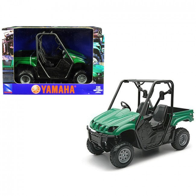 Cypress Creek™ 2008 Yamaha Rhino 700 F1 4x4 Off Road ATV Green 1/12 Diecast Model by New Ray - Carolina Superstore