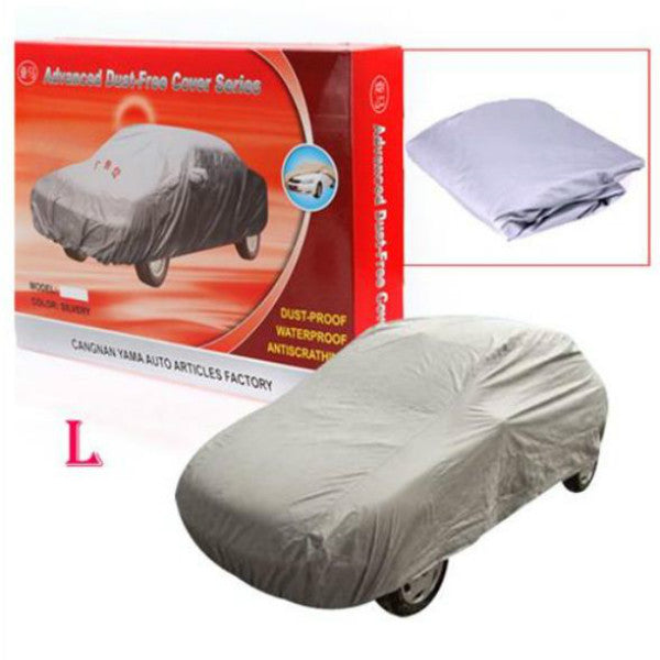 Hunters Creek™ 4.7M L Universal Anti Rain Snow Dust UV Outdoor Full Car Auto Cover - Carolina Superstore