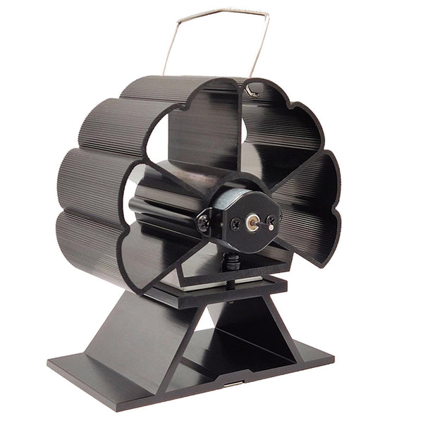 Heat Fireplace Fan Powered Home Efficient Heat Distribution Low Noise - Carolina Superstore