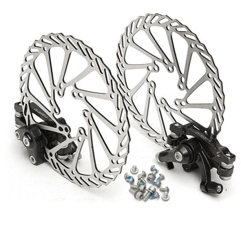 Bike Mechanical Disc Brake Front and Rear Brake Set - Carolina Superstore