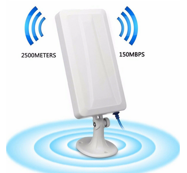 Hunters Creek™ Long Range WiFi Extender Wireless Outdoor Router Repeater WLAN Antenna Booster Signal Amplifier Booster - Carolina Superstore