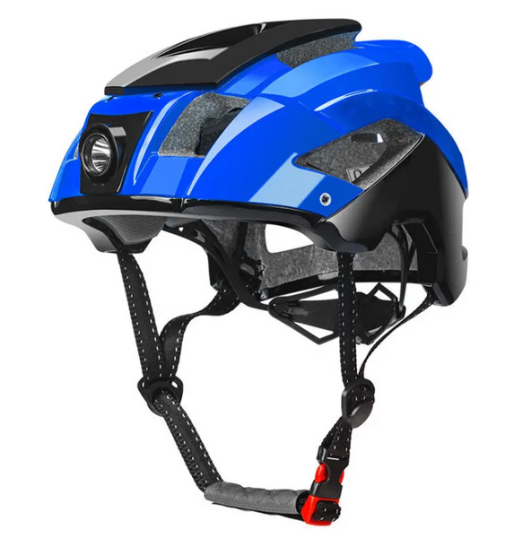 Hunters Creek Cycling Bike Bicycling Cycle Helmet 57-68cm Removable Ultralight Helmet Bike Equipment With USB 6 Modes Light - Carolina Superstore