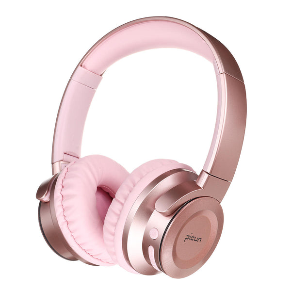 Bluetooth Headphone Bass Wireless Colorful LED Light Touch Control Foldable Handsfree Headset Support Android - Carolina Superstore