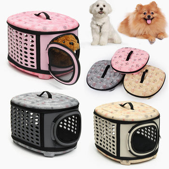 Small Pet Dog Cat Puppy Kitten Carrier Portable Cage Crate Transporter Bag - Carolina Superstore