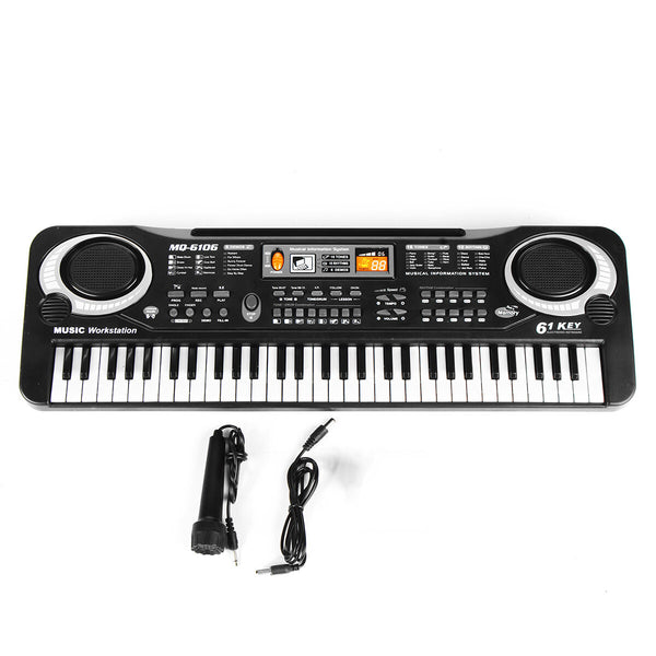 Hunters Creek™ 61 Keys Children's Electronic Keyboard Organ Piano Set With Microphone Set - Carolina Superstore