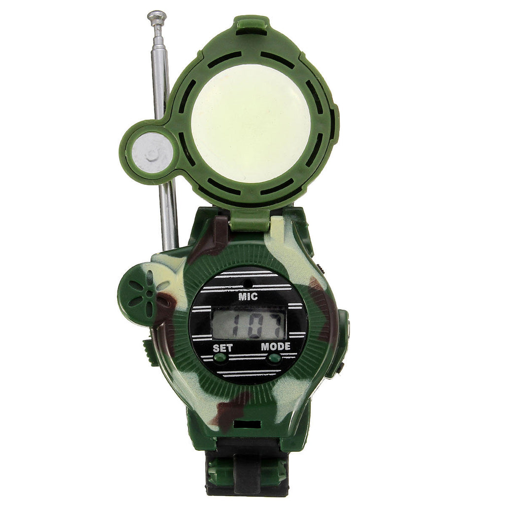 Hunters Creek™ Kids Children Toys Walkie Talkie Girls Boys Watches Inter phone Outdoor Games Green Lights Mic - Carolina Superstore