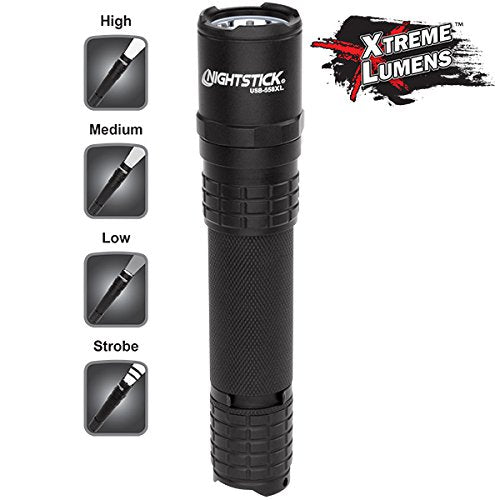 Nightstick USB Rechargeable Tactical Powerful Brightest Flashlight - Carolina Superstore