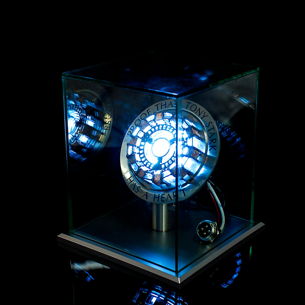 Hunters Creek™ Assembled Core DIY Tony Stark Reactor LED Lamp Kit With Display Stand Cover - Carolina Superstore