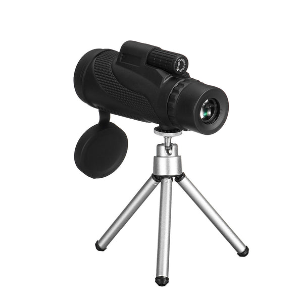 Hunters Creek HD Zoom Monocular Waterproof Telescope Night Vision Tripod For Mobile Phone Best Telescopes - Carolina Superstore