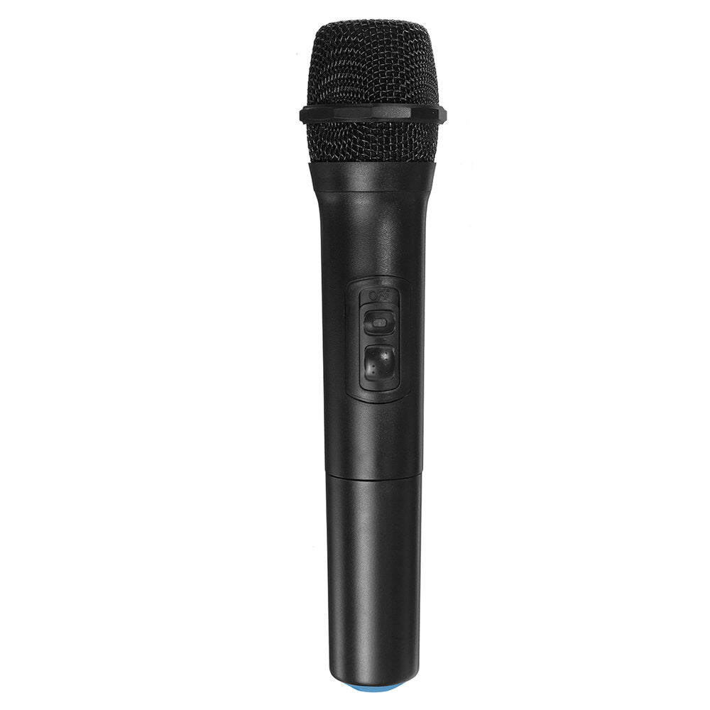Dynamic Microphone Bluetooth Wireless Karaoke Microphones Square Dance Speaker Computer Amplifier Audio Home KTV - Carolina Superstore