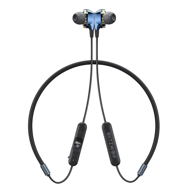 Hunters Creek™ bluetooth 5.0 Earphone Wireless Neckband Dual Dynamic Driver Magnetic Sports Headphone with Mic - Carolina Superstore