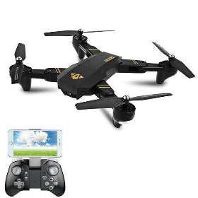 Hunters Creek™ Drone Quadcopter RC Racing Aircraft Toy Wide Angle Camera High Hold Mode Foldable Arm Best Hobby Drones - Carolina Superstore