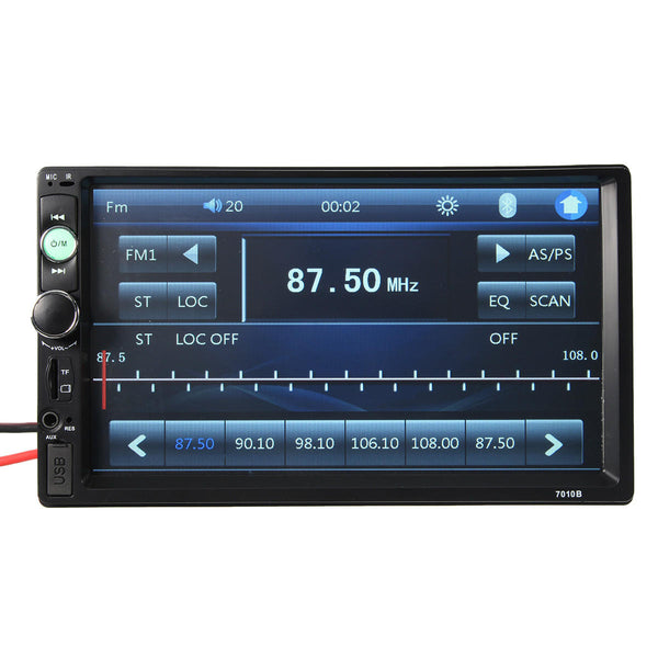 Car Stereo Radio MP5 Player HD bluetooth Touch Screen Rear View Camera - Carolina Superstore