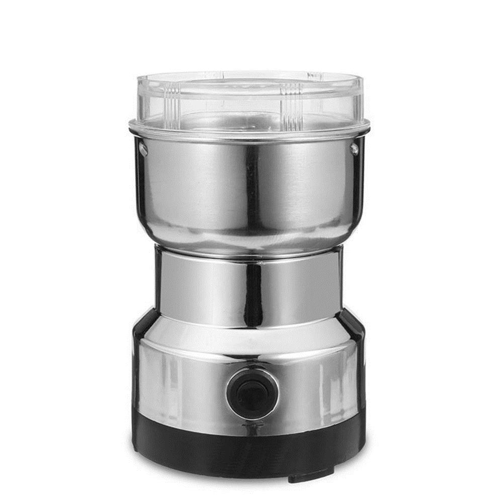 Electric Stainless Steel Home Grinding Milling Machine Coffee Bean Grinder Kitchen Tool - Carolina Superstore
