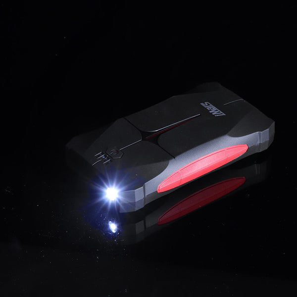 Portable Car Portable Jump Starter Powerbank Emergency Battery Booster Waterproof LED Flashlight - Carolina Superstore