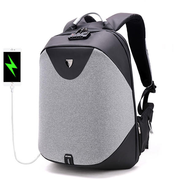 Hunters Creek™ Anti Theft Customs Lock Laptop Backpack Bag Travel Bag With USB Charging Port - Carolina Superstore