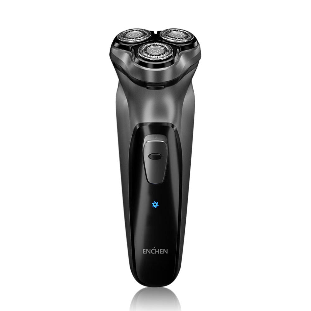 Hunters Creek™ Black Stone 3D Electric Shaver Smart Control Blocking Protection Razor for Men Gift - Carolina Superstore
