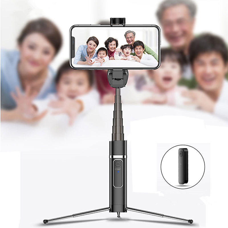 Mini Tripod Foldable Extended Bluetooth Remote Vlog Selfie Stick Monopod For iPhone Samsung Huawei - Carolina Superstore