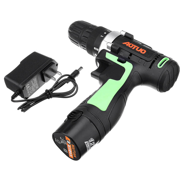 Hunters Creek™ Power Drills Li-Ion Cordless Driver Rechargeable Screwdriver Drill 1 Speed LED light - Carolina Superstore