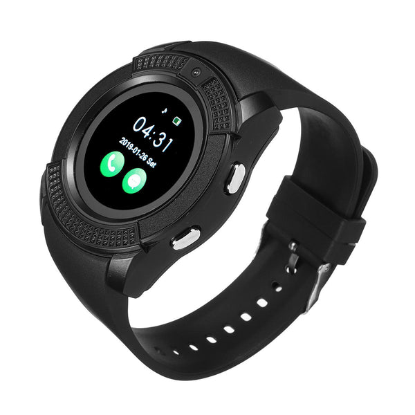 Hunters Creek™ Bluetooth Music Player Smart Watch Camera Phone Fitness Activity Tracking Smartwatch Timekeeper - Carolina Superstore