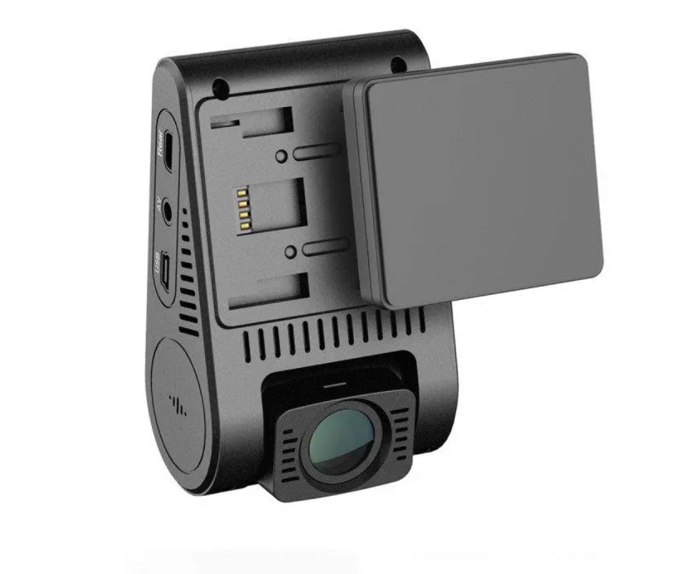 Hunters Creek™ Duo Dual Channel 5GHz Wi-Fi Full HD Car Dash Dual Camera DVR with GPS - Carolina Superstore