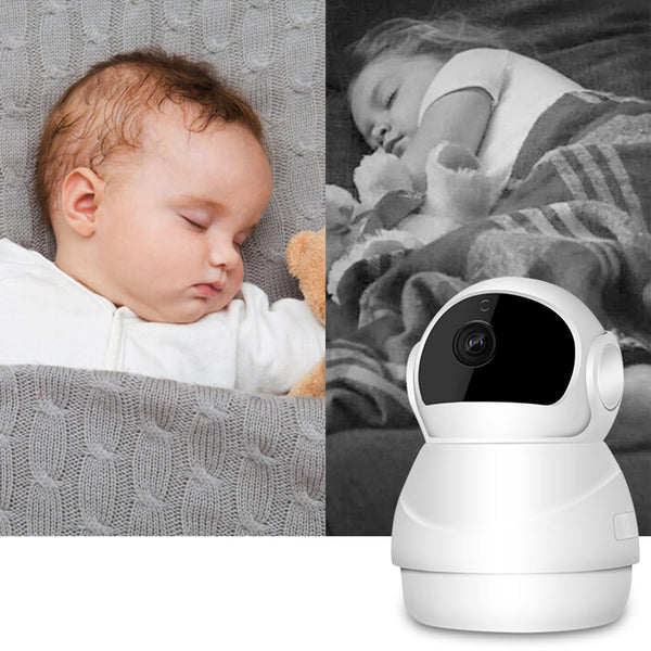 Baby Monitor Baby Monitor Degree Smart WIFI IP Camera Support Two-way Audio PIR 4 x Zoom TF Card Storage - Carolina Superstore