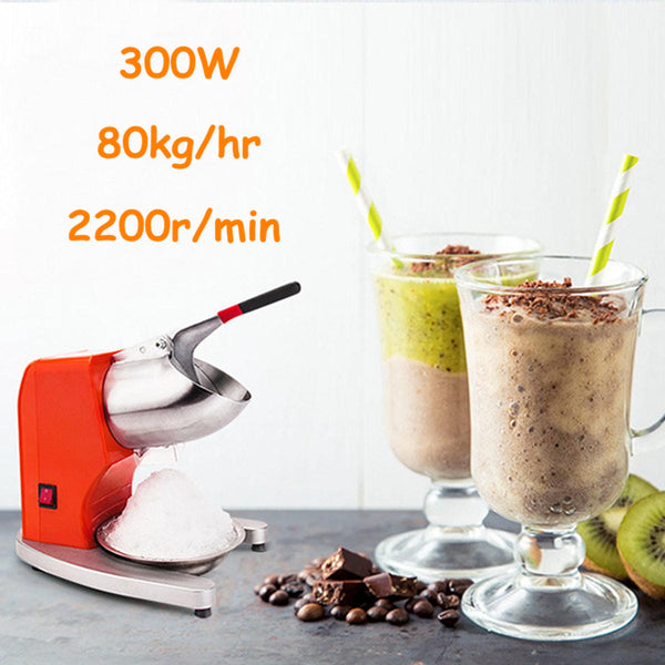 Hunters Creek™ Electric Ice Crusher Ice Shaver Machine Snow Cone Maker Shaved Ice Machine Ice Tools - Carolina Superstore