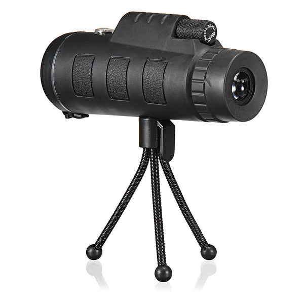 Hunters Creek™ Monocular Telescope HD Adjustable Waterproof Zoom Optical Lens Tripod For Outdoor Camping Traveling - Carolina Superstore