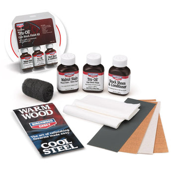 Birchwood Casey Tru Oil Stock Wood Finish Kit - Carolina Superstore